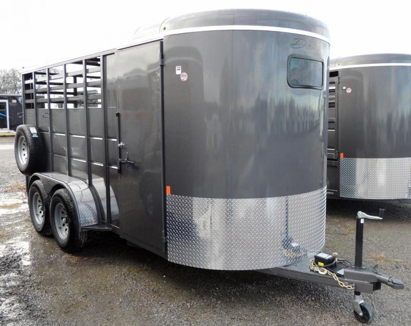 2020 Delta Manufacturing 500 Series 3 Horse Trailer