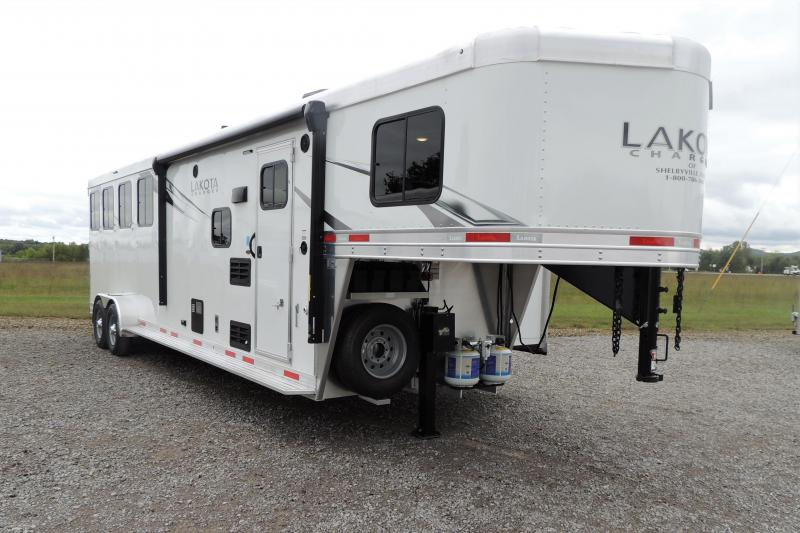 2021 Lakota Charger 409 Slide Horse Trailer