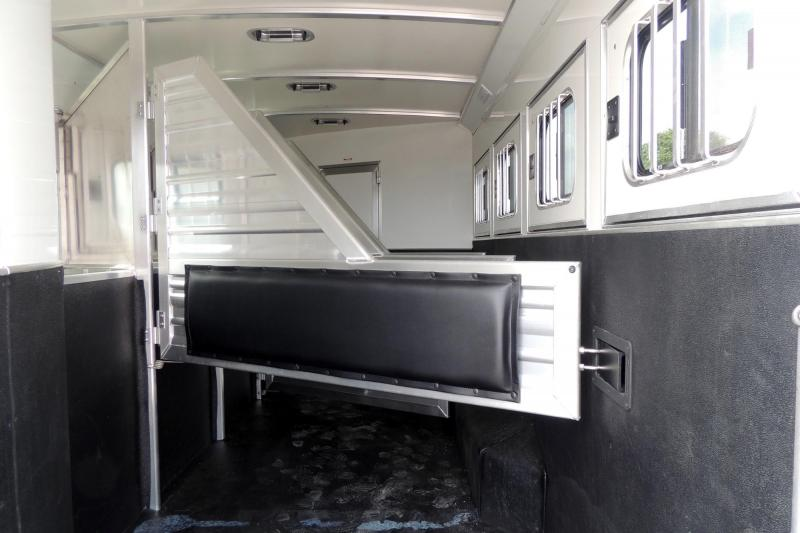 "2020 Cimarron Trailers 12 8"" Outback Customs 4 Horse Trailer"
