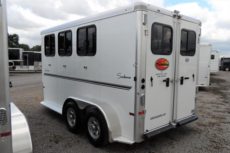 2021 Sundowner Super Sport LOADED 3 Horse Trailer
