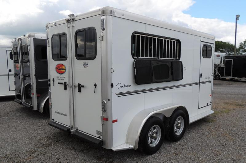 2021 Sundowner Super Sport LOADED 3 Horse Trailer