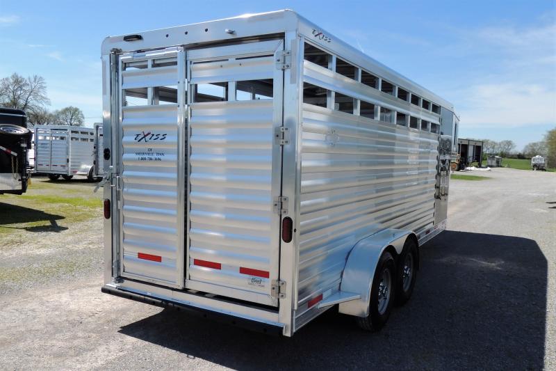 2020 Exiss STC 6820 Livestock Trailer