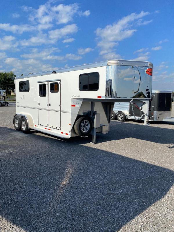2022 Sundowner Charter TR Special Edition GN Horse Trailer