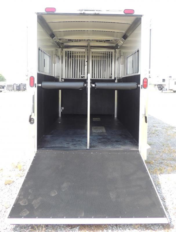 2020 Cimarron Trailers 4 Horse Head to Head -- 8' Tall! Horse Trailer