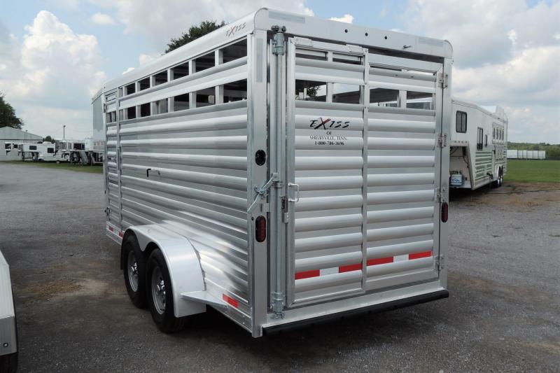 2021 Exiss STK 6816 Livestock Trailer