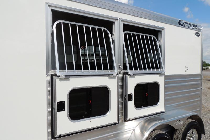 2022 Cimarron Bumerpull RTG 2 Horse Trailer