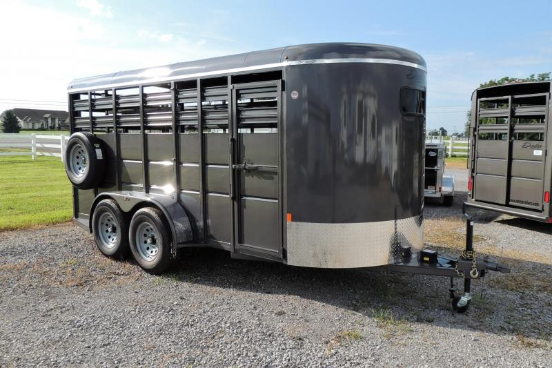 "2021 Delta 500 Series 16' X 6'6"" Tall Livestock Trailer"