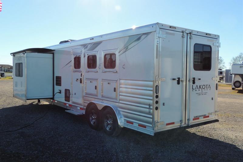 2021 Lakota Charger 8315SR Horse Trailer