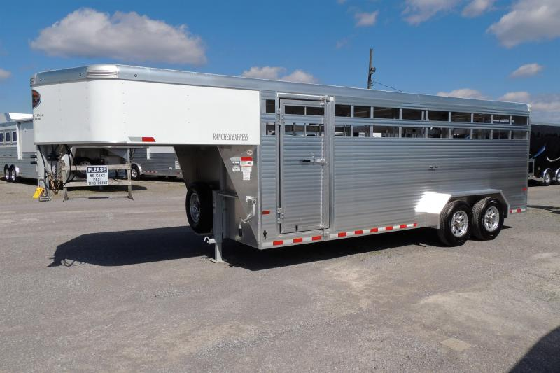 2019 Sundowner Rancher Express 20' Livestock Trailer