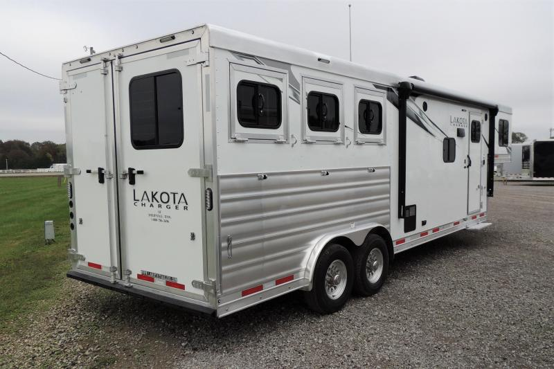 2021 Lakota Charger 8309 Horse Trailer