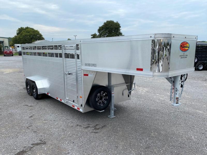 2022 Sundowner Trailers Rancher Express 20' Livestock Trailer