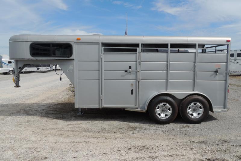 2012 Calico Trailers Gooseneck 2 Horse Trailer