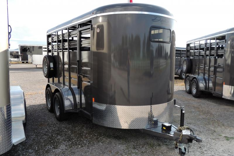 2020 Delta 500 Series 14' x 7' Tall Livestock Trailer
