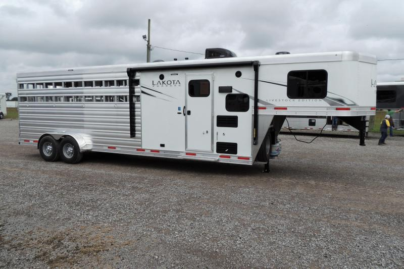 2021 Lakota Charger LE 169 Living Quarters Trailer