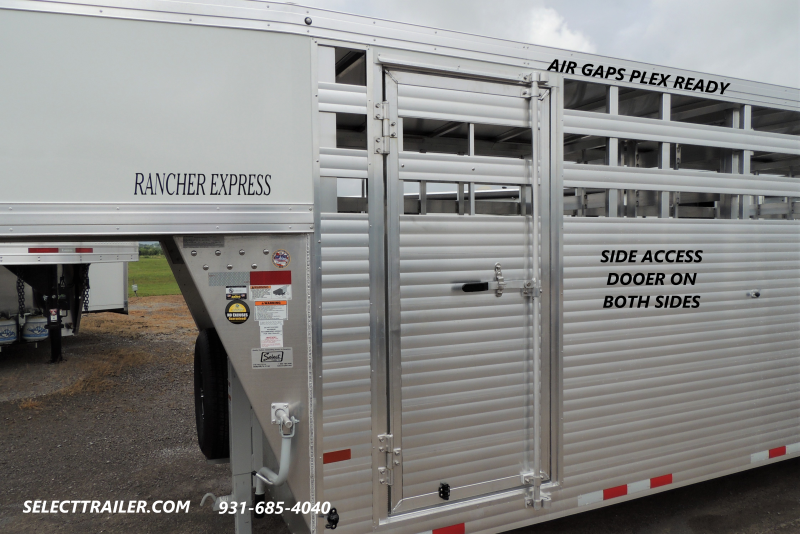 2021 Sundowner Trailers Rancher XP 24' Livestock Trailer