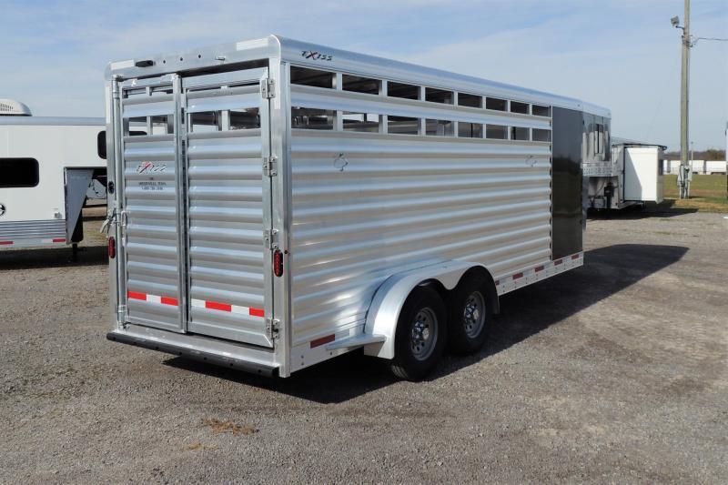 2021 Exiss STC 6820 Livestock Trailer