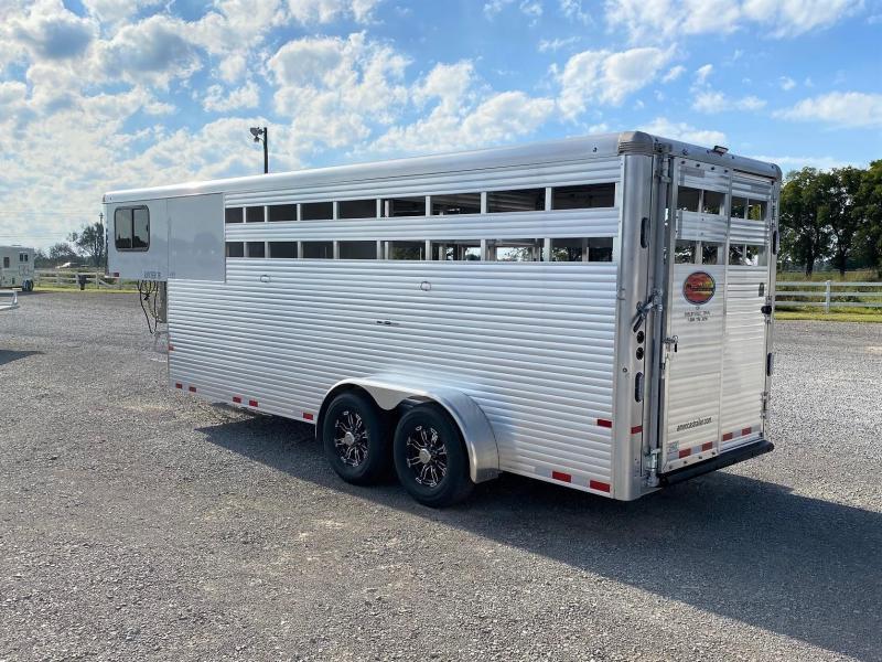 2022 Sundowner Rancher TR 20 Livestock Trailer
