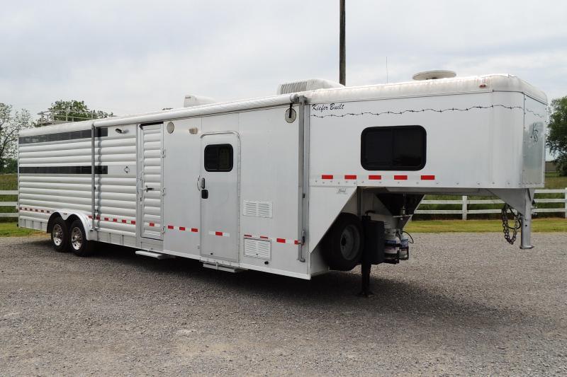 2005 Kiefer Built Living Quarters Livestock Trailer