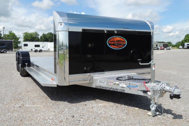 2022 Sundowner 20' Aluminum Car / Racing Trailer