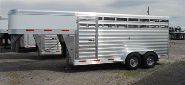 2021 Exiss STK 6816 - 6 ft 8 in. Tall Livestock Trailer