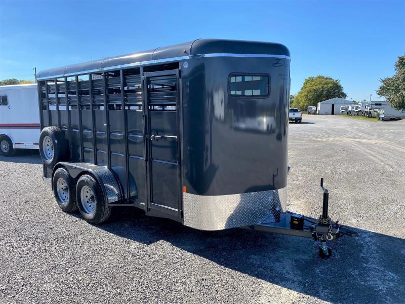 2022 Delta 500 Series 16' X 7' Tall Livestock Trailer