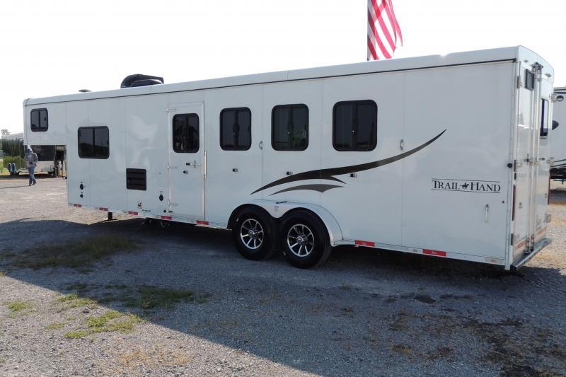 2018 Bison Trail Hand 7410 Horse Trailer