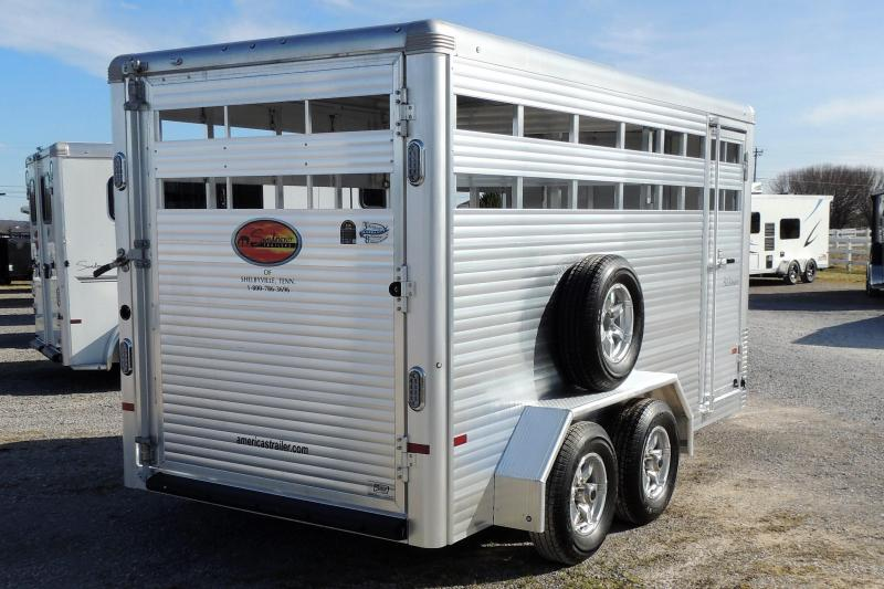 2022 Sundowner Stockman 16' x 7' Tall Livestock Trailer