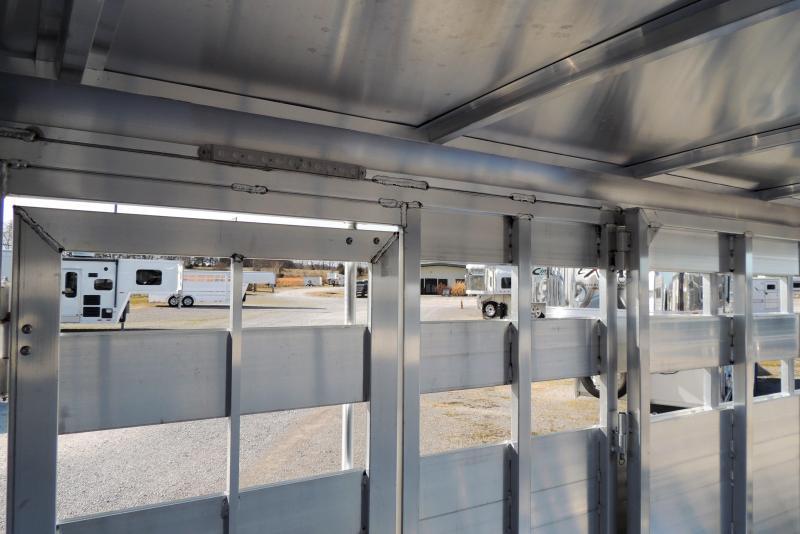 2021 Sundowner Trailers Stockman 16' x 7' Tall Livestock Trailer