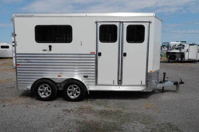 2020 Merhow Straight Load BP Horse Trailer