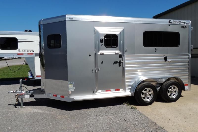2021 Cimarron 2 Horse Straightload XL Stalls Horse Trailer