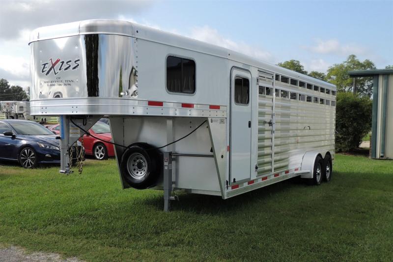 2021 Exiss STC 6824 Livestock Trailer