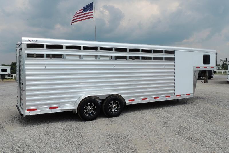 2022 Exiss STC 6824 Livestock Trailer