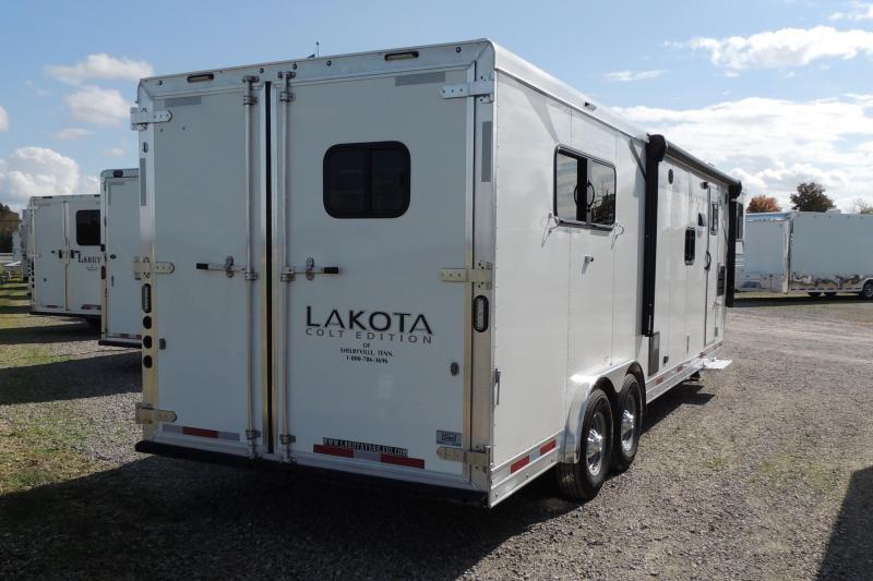 2021 Lakota Colt 8311 Slideout Horse Trailer