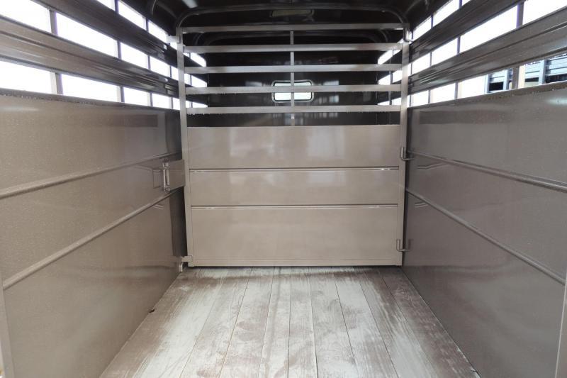 2020 Delta Manufacturing 500 Series 14' x 7' Tall Livestock Trailer
