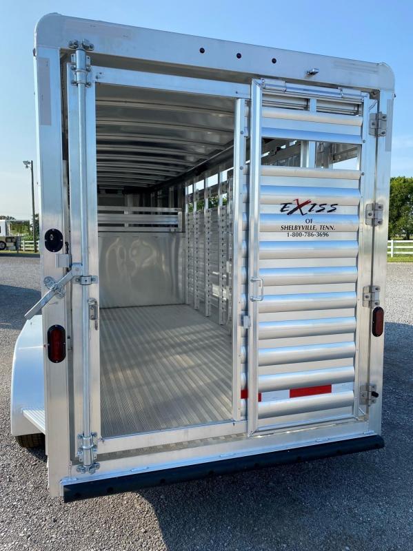 2022 Exiss STK 6816 - 7' Tall Livestock Trailer