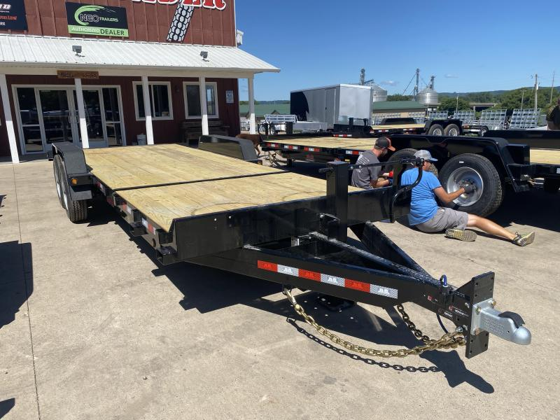 2021 B-B 83X22 Gravity Tilt Deck Equipment Trailer