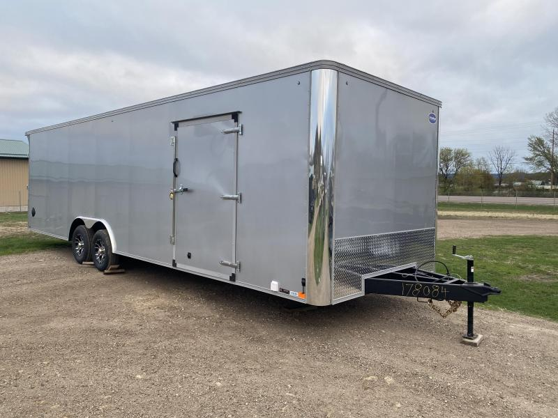 2021 United Trailers 8.5X28 Race Basic Enclosed Cargo Trailer