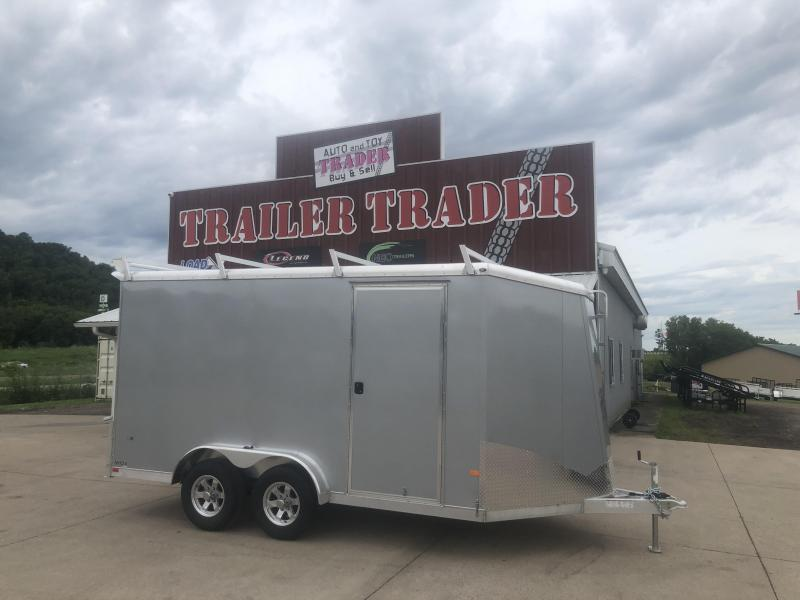 2021 Closeout Trailers 7.5X14 NEO Trailers Aluminum Enclosed Cargo Trailer