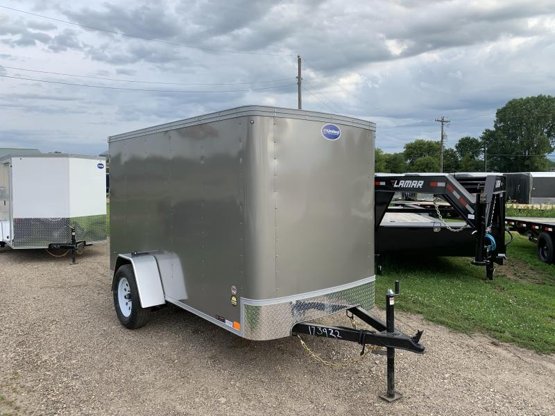 2021 United Trailers 5X10 Enclosed Cargo Trailer