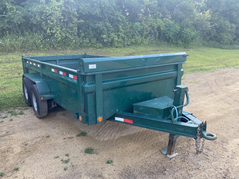 2017 Load Trail 83X14 Low Pro Dump Trailer