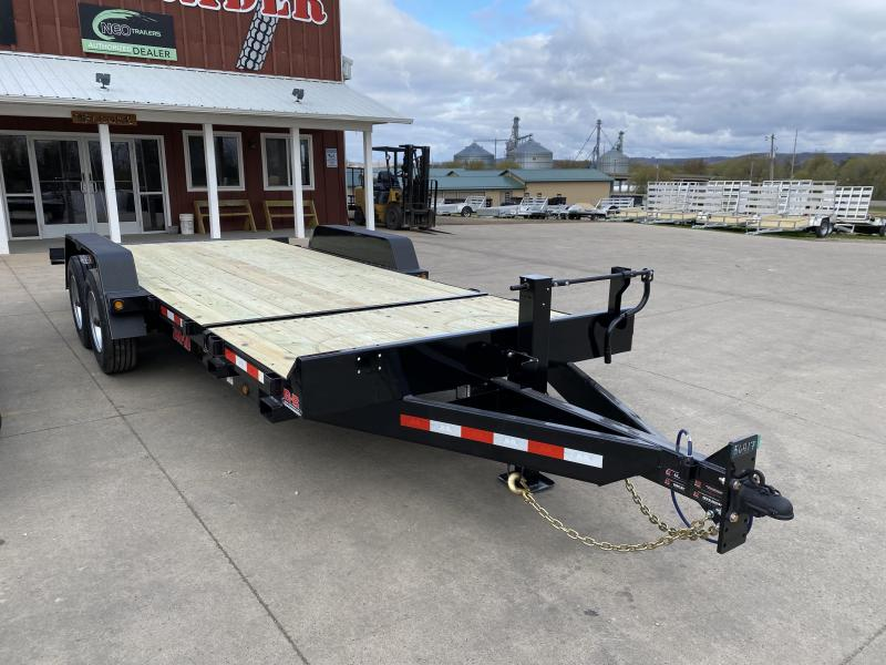2021 B-B 83X20 Gravity Tilt Deck Equipment Trailer