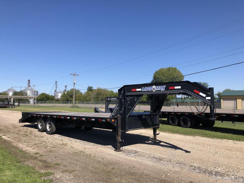 2014 Load Trail 102X25 Gooseneck Deckover Equipment Trailer
