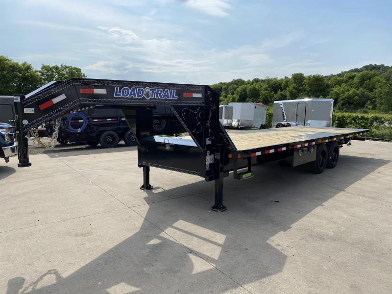 2020 Load Trail 102X26 Gooseneck Hydro Dove Equipment Trailer