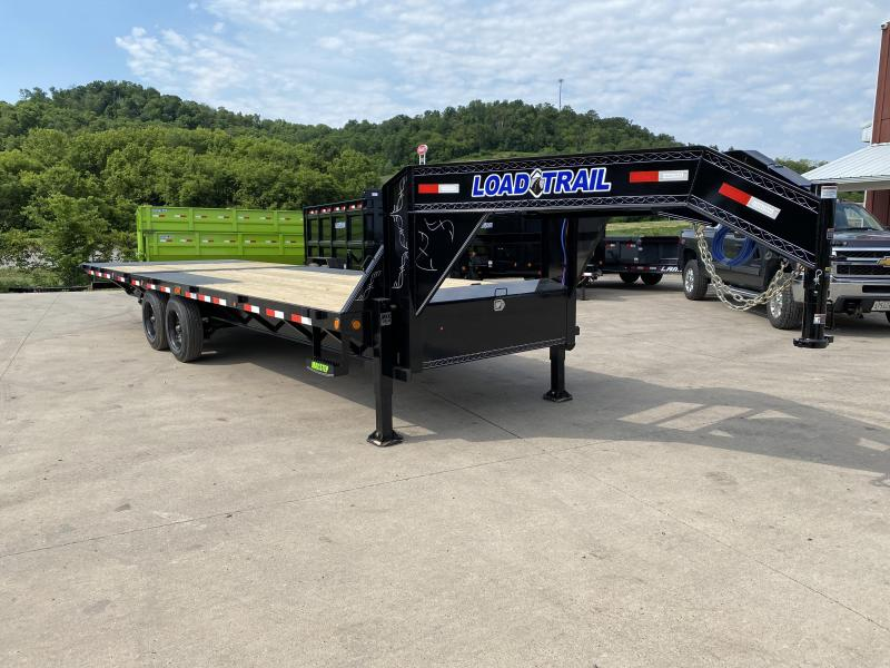 2020 Closeout Trailers 102X26 Load Trail Gooseneck Hydro Dove Equipment Trailer