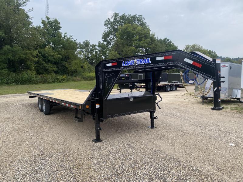 2022 Load Trail 102X28 Gooseneck Tilt Deck Equipment Trailer