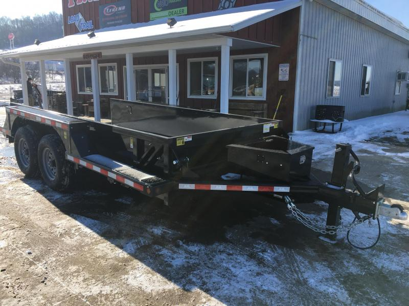 2020 Closeout Trailers 76X14 B-B Drop Down Equipment Trailer