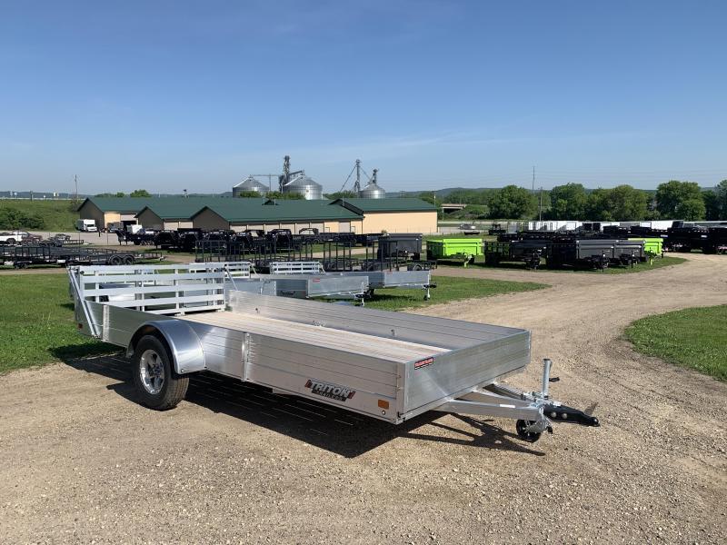2020 Triton 81X14 Aluminum Utility Trailer