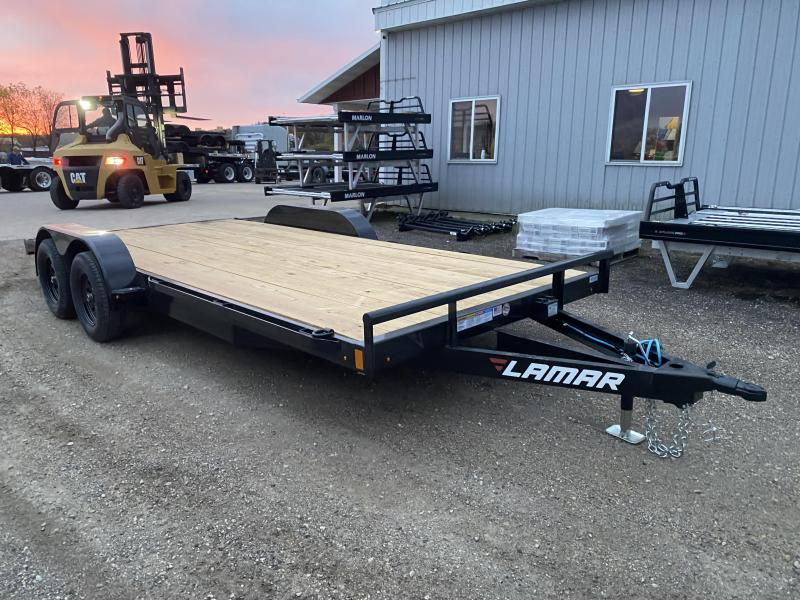 2021 Lamar Trailers 83X18 Car Hauler