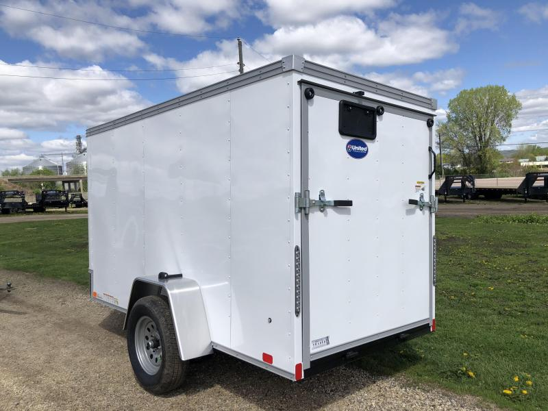 2022 United Trailers 5X10 Enclosed Cargo Trailer