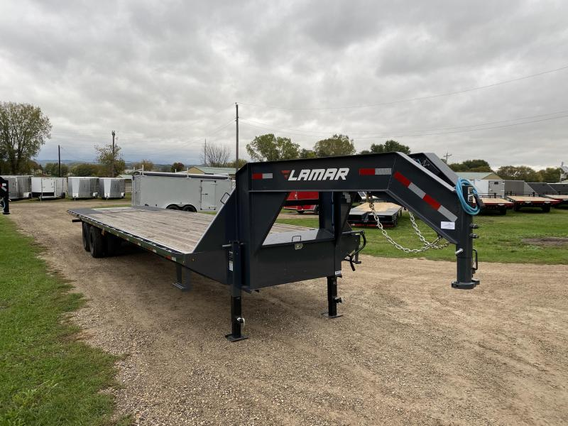 2021 Lamar Trailers 102X36 Hydro Dove Gooseneck Equipment Trailer